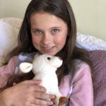 Girl with Lamb (USA)