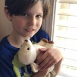 Boy with Lamb (USA)