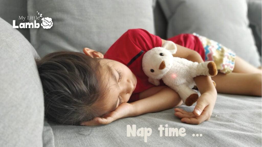 My Litte lamb nap time