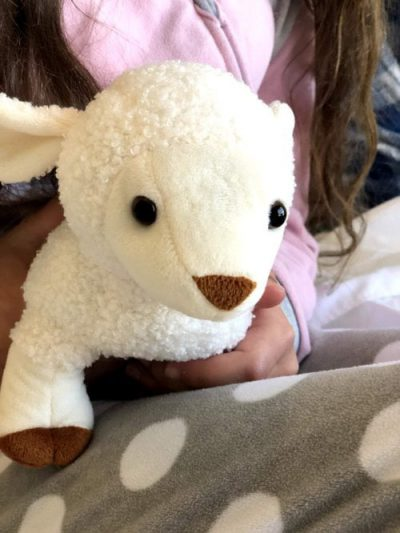 my little lamb - stuffed animal audio bible